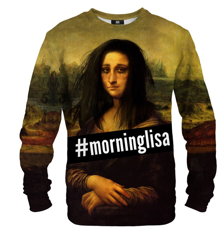 Mikina bez kapucne Morning Lisa