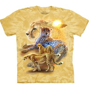 Serengeti Gold Cheetah T Shirt