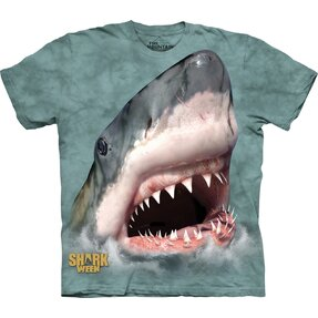 Sharktastic Green T Shirt