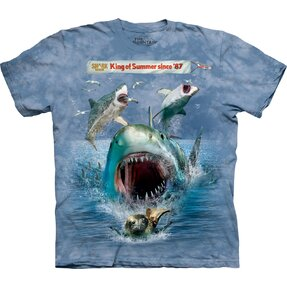 Snuffy Shark Week T Shirt