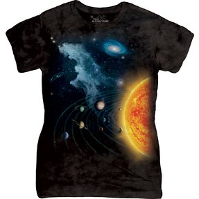Solar System Space T Shirt