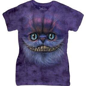 Big Face Cheshire Cat T Shirt