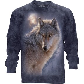 Adventure Wolf LS T Shirt